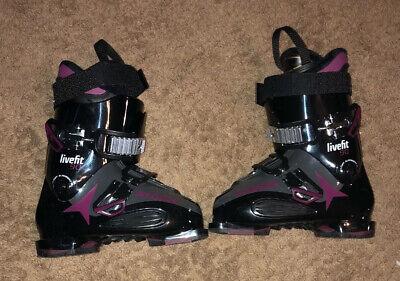 Atomic Livefit 90 Women's Ski Boots Size 24/24.5 Worn Twice Atomic Womens Ski Boots
