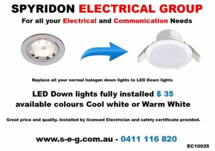 Perths lighting specialist led downlights fully installed led downlight fully installed 35 asfbconference2016 Images