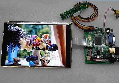 7 Inch Hd1080p Lcd Screen Display Monitor Hdmivga2av Car Driver Board Kit