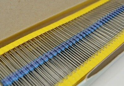 1000 Pc Lot Nos 12k Ohm 14w .25 Watt 1 Tolerance 100 Ppm Metal Film Resistor