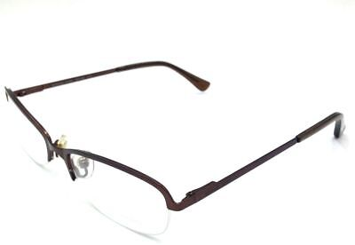NEW $400 MICHAEL KORS WOMEN'S BROWN EYEGLASSES OVAL FRAMES EYE LENS RX MK149 210