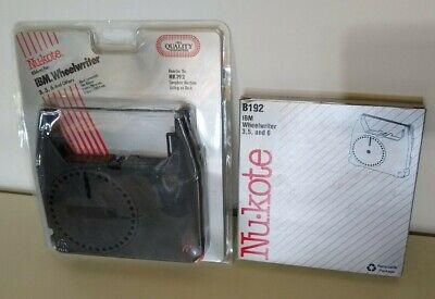 Lot Of 2 Nu-kote B192 Nk192 Replacement Ribbon For Ibm Wheelwriter 3561020