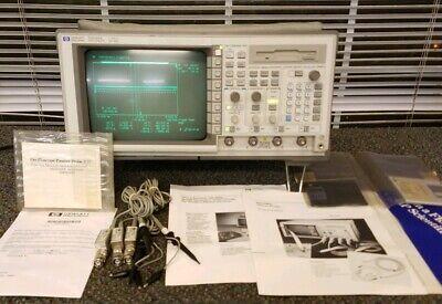 Hp Agilent 54542a 2 Gsas 4 Channel 500 Mhz Oscilloscope 3 10441a Probes