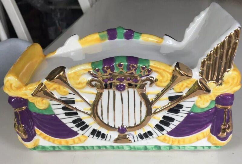Rare Krewe Rex Ceramic Mardi Gras Float New Orleans