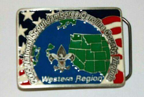 2005 National Jamboree Belt Buckle Western Region Limited Edition