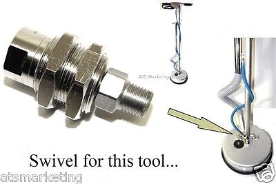 Carpet Cleaning - Swivel Replacement For Tile Grout Tool