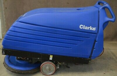 Clarke Fusion 20 20ix Walk Behind Floor Burnisher Buffer 36vdc Battery