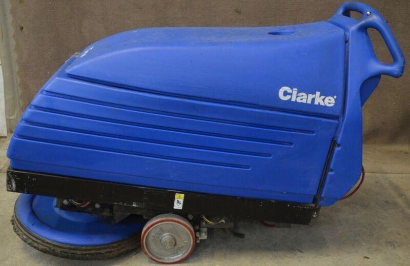 "Clarke Fusion 20"" 20IX Walk Behind Floor Burnisher Buffer 36VDC Battery"