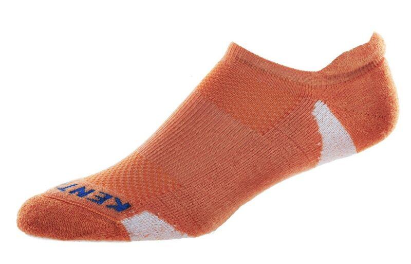 Kentwool Low Profile SKINNY Womens Golf Socks -Size Large - Orange