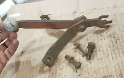 Massey Harris 33 Tractor Mh Pto Power Take Off Engagement Lever An Bolts An Pin