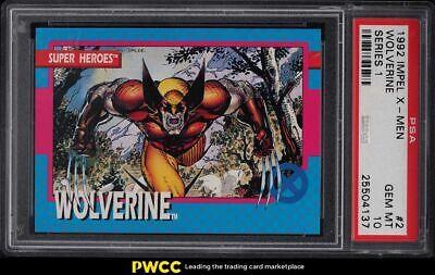 1992 Impel X-Men Series 1 Wolverine 2 PSA 10 GEM MINT - $70.69