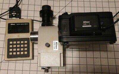 Nikon Microscope Ufx-dx Camera Adapter No. 611821 Camera Fx-35dx Mpc-1
