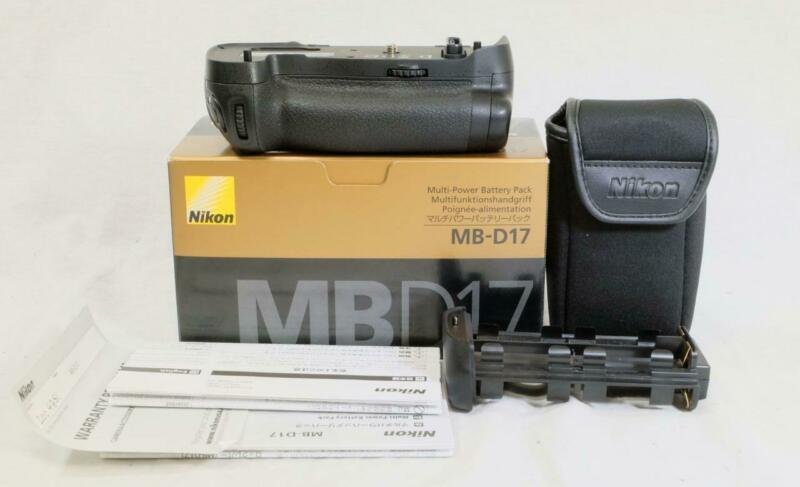Nikon MB-D17 Multi-Power Battery Pack for Nikon D500, In Box - MUST SEE! (5443)