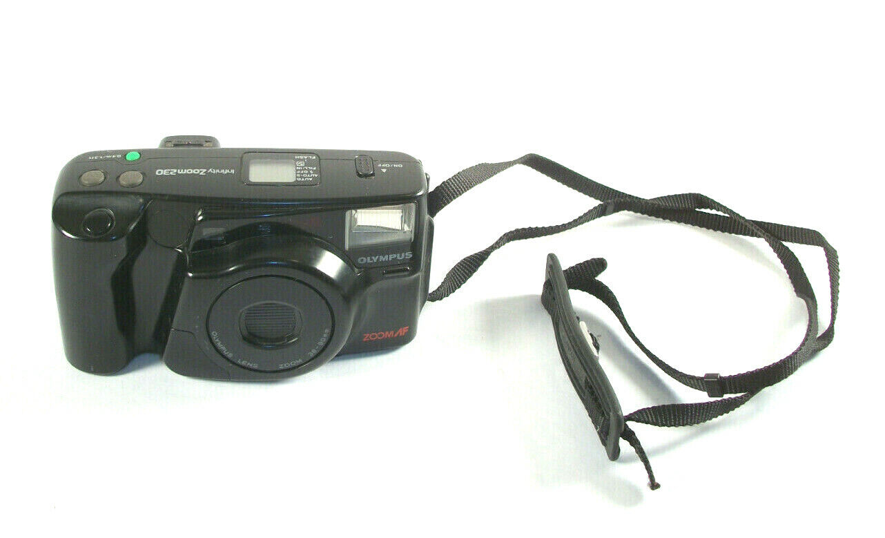 Olympus Infinity Zoom 230 35mm Point Shoot Film Camera - $32.99