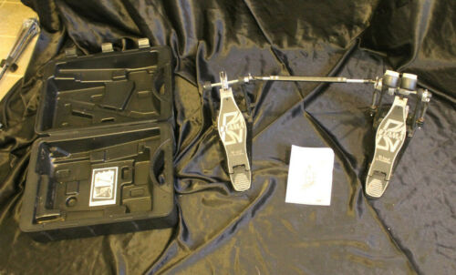 """TAMA IRON COBRA """"Power Glide""""  Double Bass Drum Pedal  w/ Case - EXC. CD."""