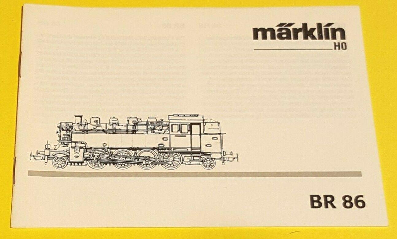 Märklin Gestänge Schrauben Satz 4teilig für 3096 Dampflok BR 86 173 BR86 ...