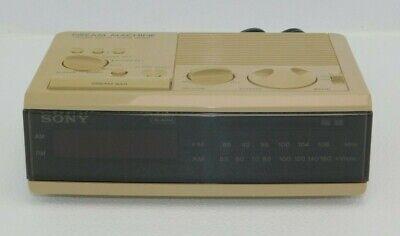 Vintage Sony Dream Machine ICF-C3W AM/FM Radio Alarm Clock - Works