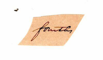 ABRAHAM LINCOLN Autograph Clip Document - U.S. President & Civil War Leader (#4)