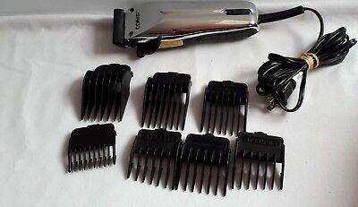 Conair Clipper Attachments - Conair Electric Hair Clipper Beard Trimmer Black Mdl HHC277CHC 7 Attachments