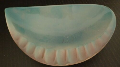 Royal Windsor Copley Gray Pink Tracks Ashtray Teardrop USA Spaulding china