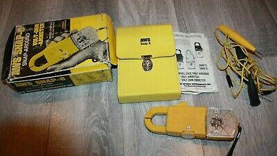 Vintage Sperry Aws Snap-6 Snap Around Volt-ohm Ammeter