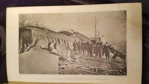 1887 Report Massachusetts Railroad Commissioners Disaster Boston Providence RR
