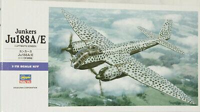 Gebraucht, Junkers Ju-188, A/E, Hasegawa, 1/72 gebraucht kaufen  Elmenhorst/Lichtenhagen