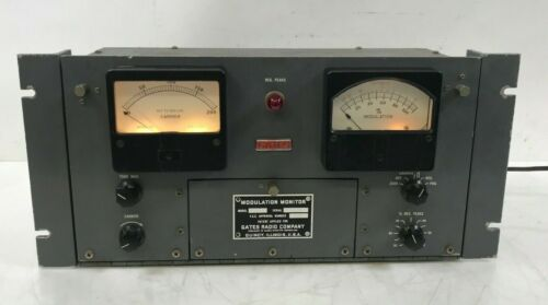 1959 Gates M-5693 Modulation Monitor Broadcast Radio *Rare*
