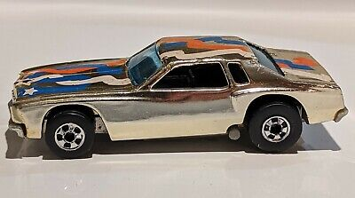 Hot Wheels Redlines 1974 Monte Carlo Stocker - Gold - Hong Kong - FREE SHIP! EUC