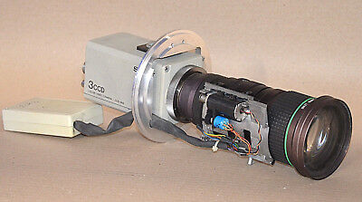 Sony Color-video-kamera (Sony DXC-930P 3CCD Color Video Kamera CCD - IRIS inkl. CANON MACRO )