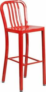 RESTAURANT METAL DINING CHAIR BAR STOOL COUNTER STOOL