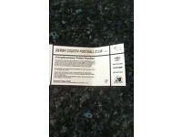 Derby County Tickets Voucher