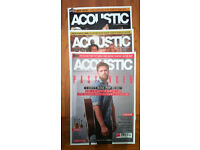 Job lot 3 magazines acoustic magazine guitar great condition Wollaton