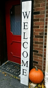 $50 Hand Painted Welcome Sign - Custom Order for Christmas!