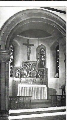 VINTAGE POSTCARD: (unknown) ANGLO - CATHOLIC CHAPEL - posted 15 OCT 1985