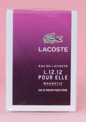 Lacoste EAU de LACOSTE L12.12 MAGNETIC Eau de Parfum Spray 25ml, NEUWARE, OVP gebraucht kaufen  Elsdorf