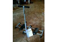 Leg Magic exercise machine