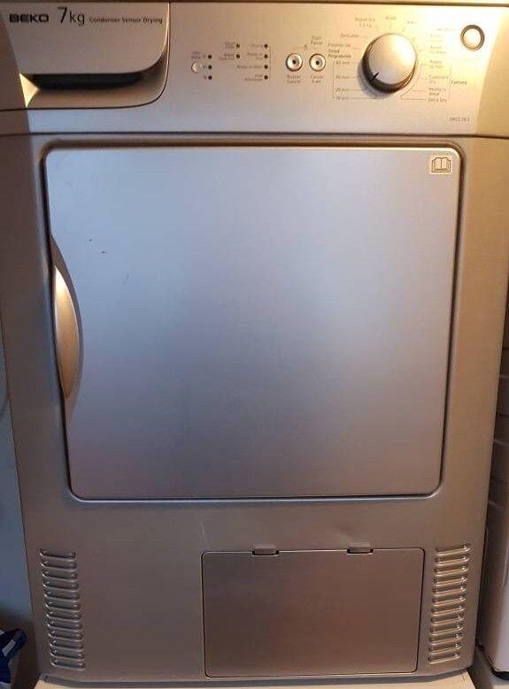 Beko silver 7kg condenser tumble dryer