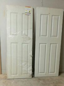 New Fire Door 687 or 763x 1982mm 4 panelled