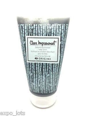 Origins Clear Improvement Detoxifying Charcoal Body Scrub...
