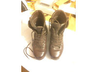Altberg used brown defender boots size 11m for sale good used condition £ 30.00 collection only