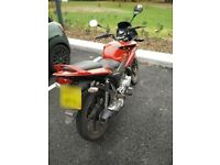 Honda CBF 125 2013 long MOT, Logbook, new battery + 2 locks, cover, helmet, gloves, jacket