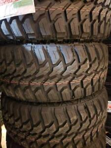 33X12.50R20 BRAND NEW DOUBLE STAR MUD TERRAIN TIRES 33 12 50 20 LT 33X12 50R20 M/T 33 INCH 10 PLY 33 12 5R20 33 1250 20