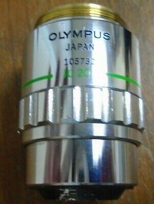 Olympus Microscope Objective Neosplan 20 Nic 0.46 0 F180 20x Neo Splan Ic20