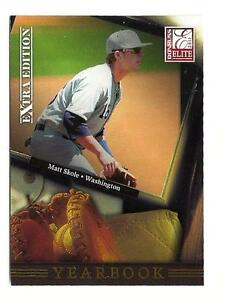 E66-2011-Elite-MATT-SKOLE-Yearbook-RC-Washington-Nationals