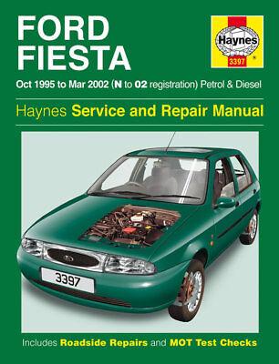 3397 Haynes Ford Fiesta Petrol & Diesel (Oct 1995 - 2002) Reg Workshop Manual