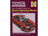 Haynes Manual for Toyota Avensis