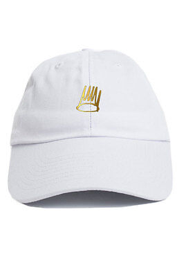 899639f5b14dd Dreamville Custom Unstructured Black Denim Dad Hat Cap J Cole TDE Nation  New Hüte   Mützen