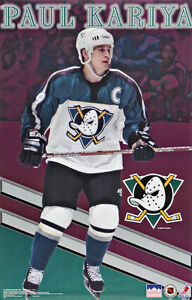 1998-Paul-Kariya-Anaheim-Mighty-Ducks-Original-Starline-Poster-OOP