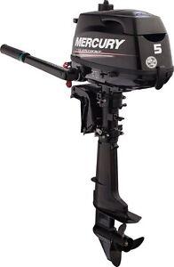 5hp Mercury Outboard Motor (2014 4 stroke)